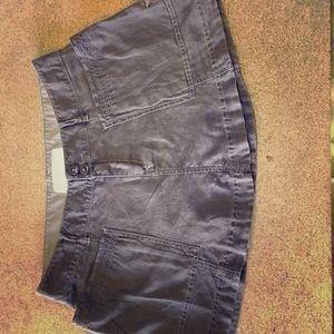 Classic Boho Linen Cotton Mini Skirt